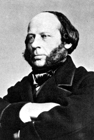 John Ericsson (1803 - 1889), Swedish-born inventor.  Original print in possession of National Archives.