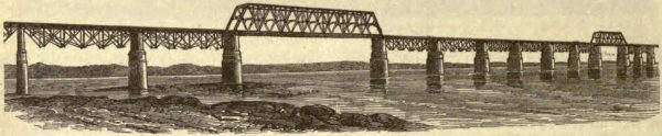 Fink's Viaduct Bridge at Louisville, Kentucky