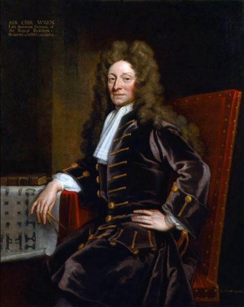 Sir Christopher Wren (1632-1723)