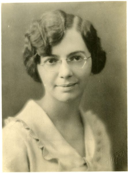 Florence Barbara Seibert (1897-1991)