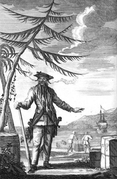 Edward Teach (c. 1680 - 1718)