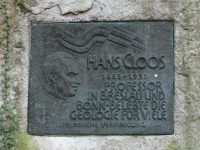 Hans Cloos and the Granite Tectonics