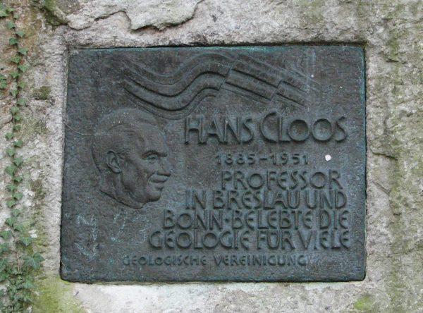 Hans Cloos (1885 - 1951)