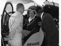 Dora Dougherty Strother, Helicopter Test Pilot