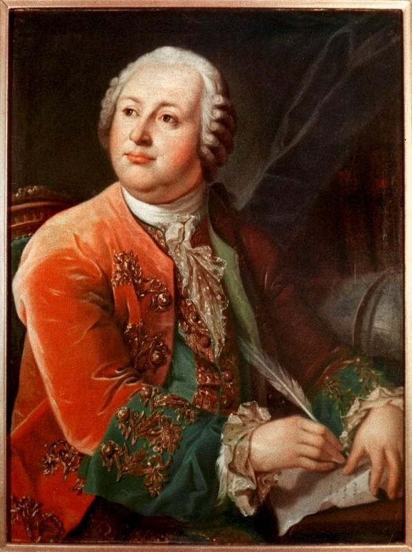 Russian Polymath Mikhail Lomonosov