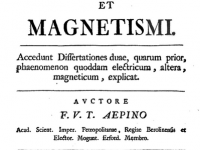 Franz Aepinius' Theory of Electricity and Magnetism