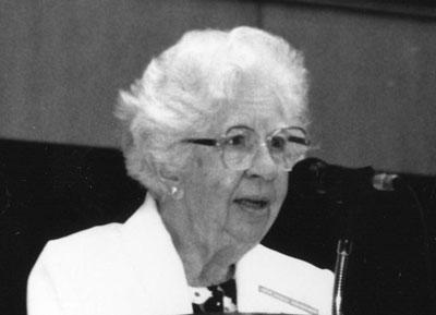 Eleanor J. Gibson (1910 - 2002)