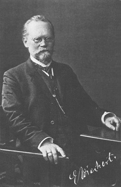 Emil Wiechert (1861 – 1928)