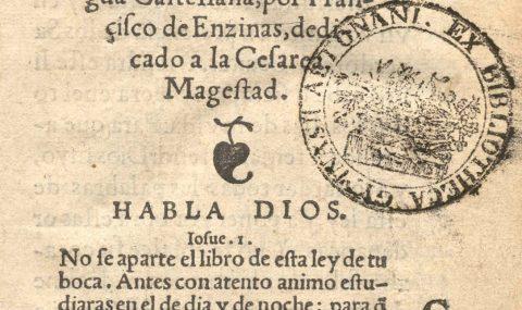 Francisco de Enzinas and the New Testament