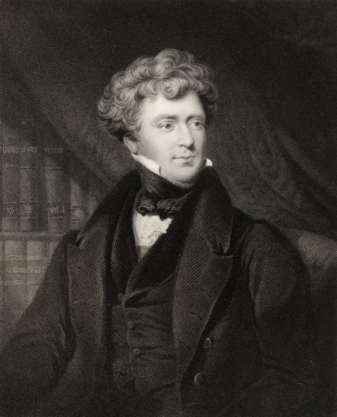 James Blundell c. 1820. Engraving by John Cochran.