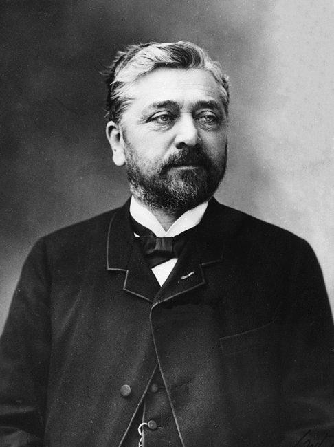 Gustave Eiffel (1832-1923), photo made by Nadar, 1888