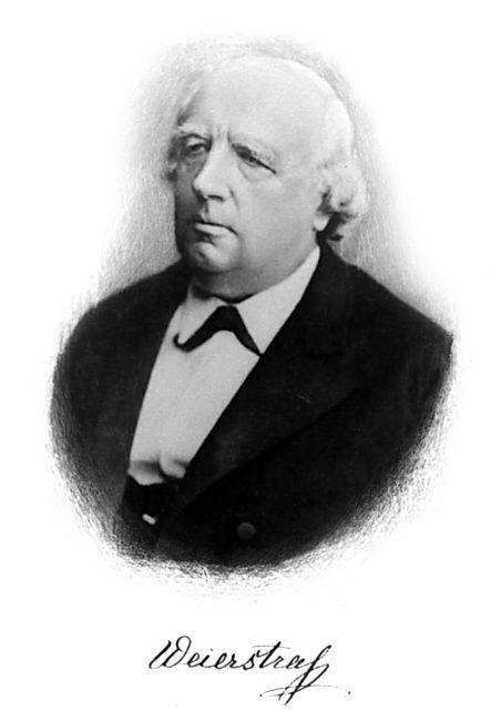 Karl Weierstrass (1815-1897)