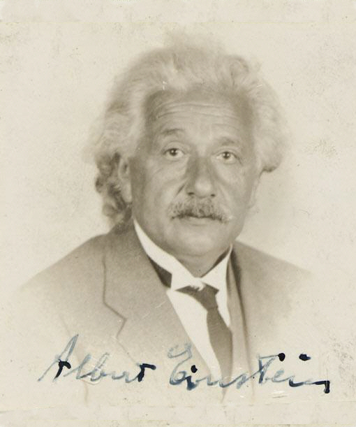Declaration of Intention for Albert Einstein, 10-01-1940