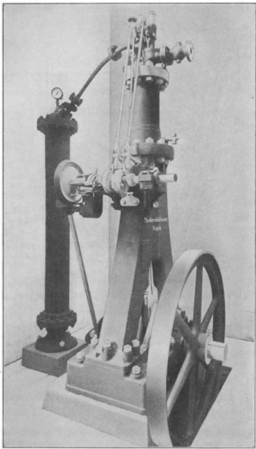 Diesels first experimental engine 1893