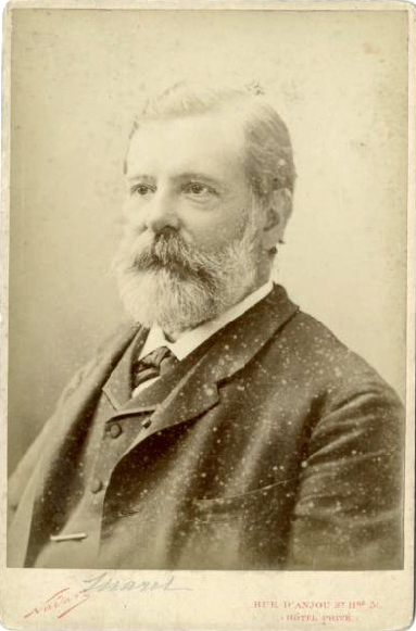 Étienne Jules Marey around 1880, by Félix Nadar