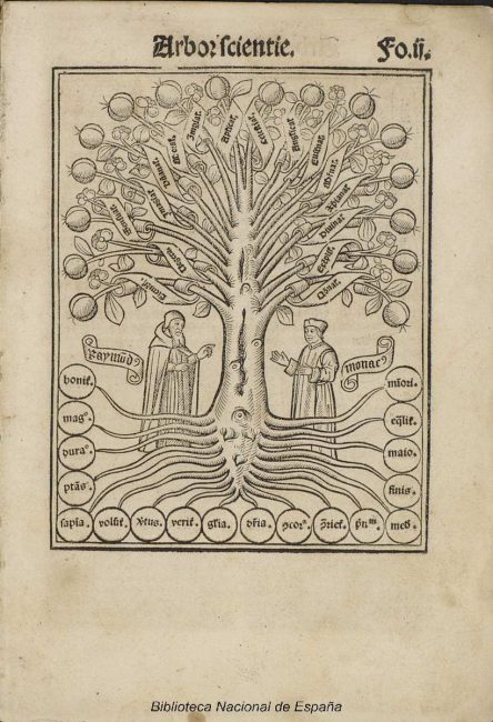 Arbor scie[n]tie venerabilis et celitus illuminati patris Raymundi Iullii, 1515