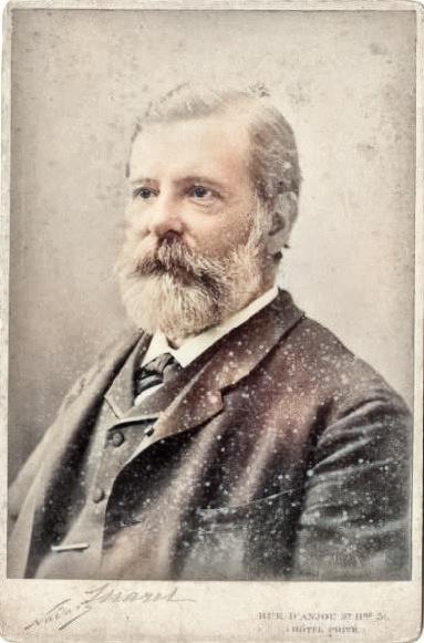 Étienne Jules Marey (1830-1904) around 1880, by Félix Nadar