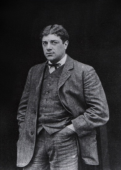 Georges Braque (1882-1963), photograph published in Gelett Burgess, The Wild Men of Paris, Architectural Record, May 1910