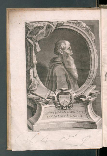 Bembo's portrait, Historia veneta (1729)