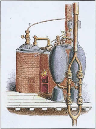 The 1698 Engine by Thomas Savery