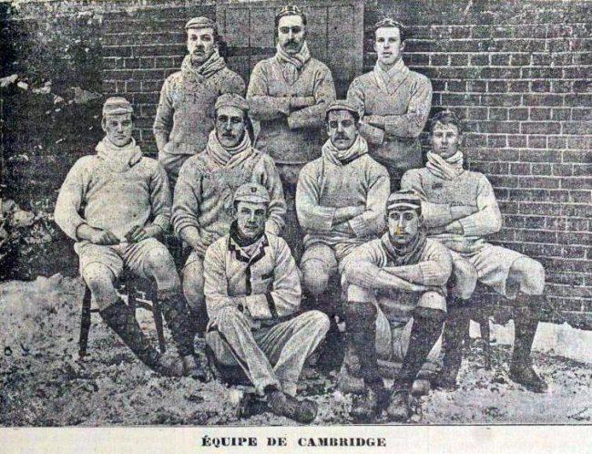 The Cambridge Team of 1890, La Revue des sports, 2 avril 1890, p.1027