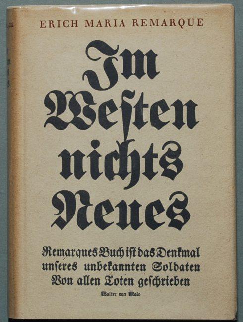 Im Westen nichts Neues, 1929 original version.