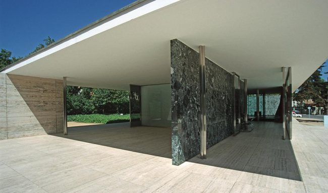 Barcelona Pavilion, 1929. (reconstruction)
