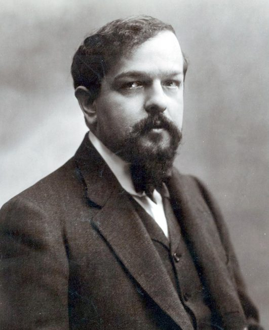 Claude Debussy (1862-1918), photo: Atelier Nadar, Paris, 1908