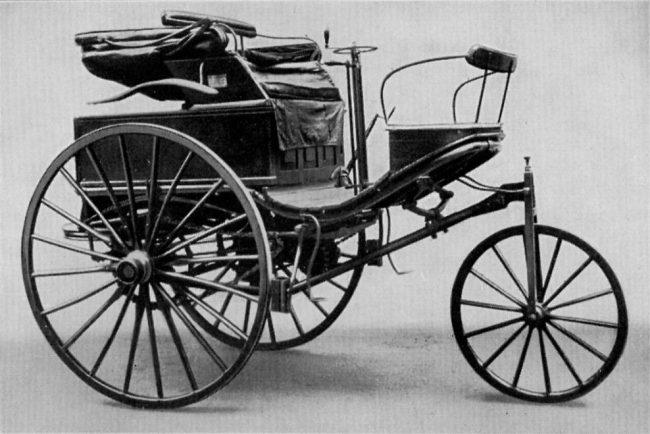 Benz Patent-Motorwagen No. 3, 1888