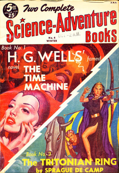 Wells's works were reprinted in American science fiction magazines as late as the 1950s