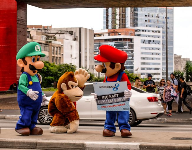 Mario, Luigi, and Donkey Kong,  by PhotographerFelipe Veiga
