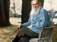 If the world could write by itself, it would write like Tolstoy