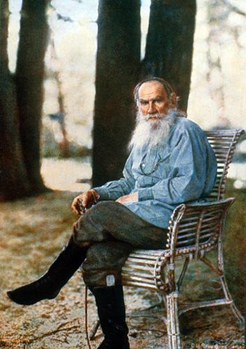 Leo Tolstoy, Foto: Prokudin-Gorski (1908)