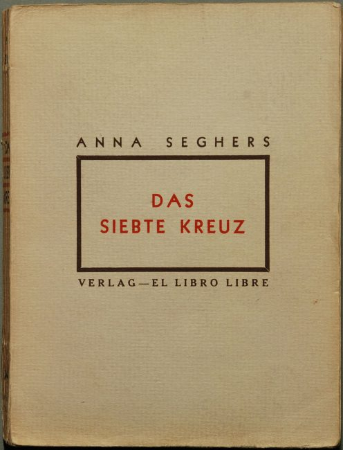 "Cover of Anna Seghers' ""The Seventh Cross"", photo: H.-P.Haack"
