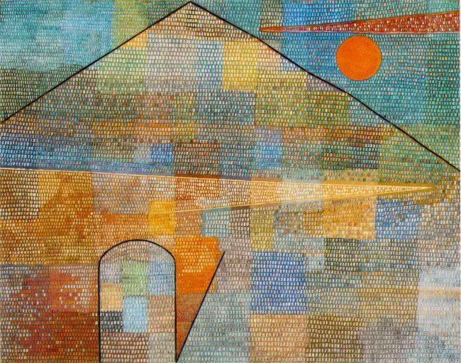 Paul KLee, Ad Parnassum (1932)
