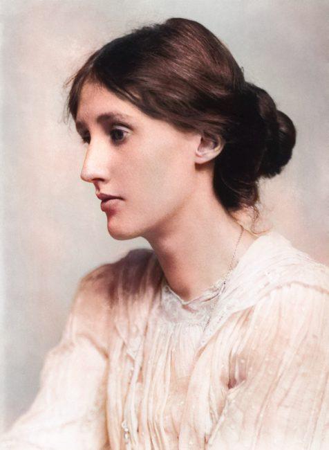 Virginia Woolf (1882-1941) , Fotografie von George Charles Beresford, 1902