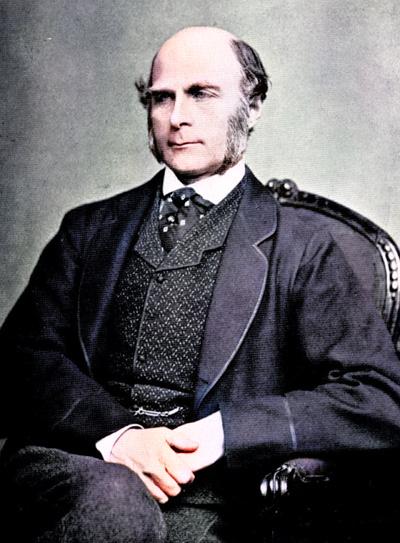 Sir Francis Galton (1822 - 1911)