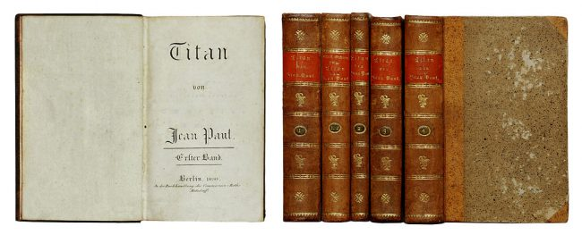 Jean Paul, Titan (First edition, 1800-1803)