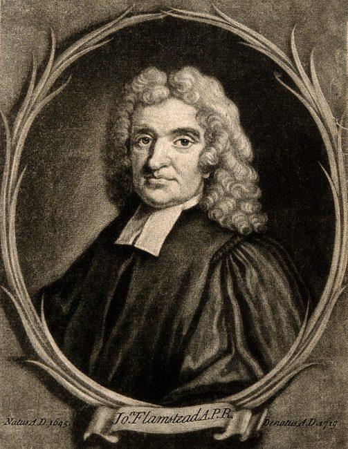 John Flamsteed (19 August 1646 – 31 December 1719)