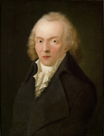 Portrait of Jean Paul (1763-1825) by Heinrich Pfenninger (1798)
