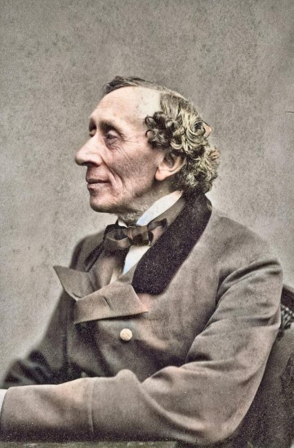 Hans Christian Andersen (1805-1875), Photograph taken by Thora Hallager, 1869