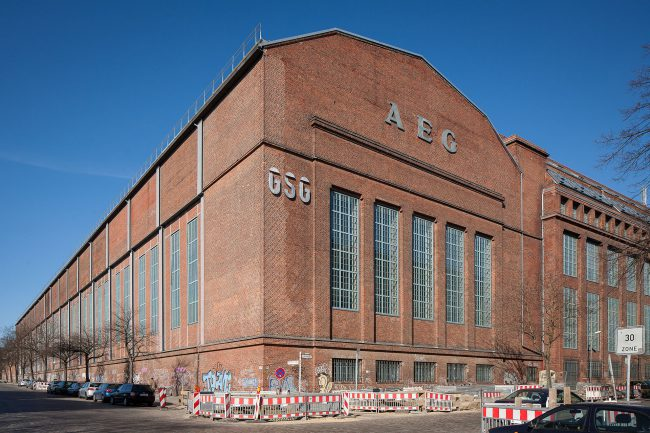 AEG Assembly hall for large machines, Berlin-Gesundbrunnen (1912)