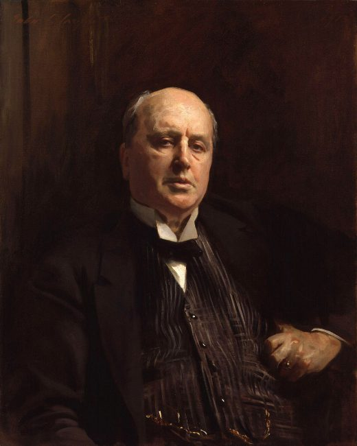 Portrait of Henry James (1843-1916) oil painting by John Singer Sargent (1913)