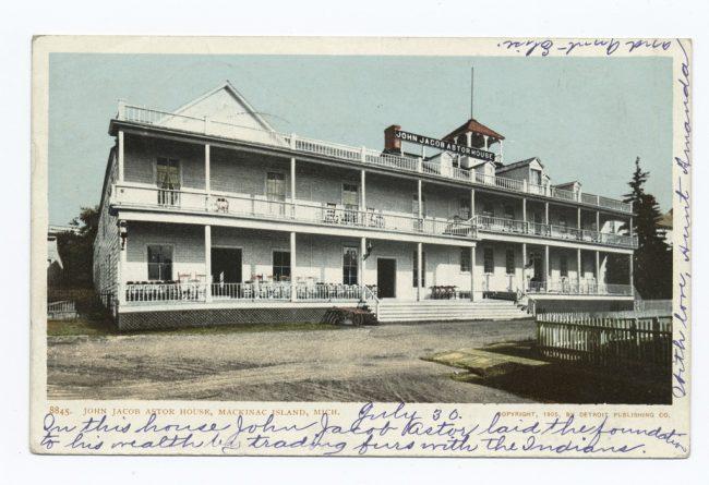 John Jacob Astor House, Mackinac Island, Michigan Date1898