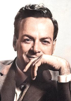 Richard Feynman (1918-1988) ©The Nobel Foundation