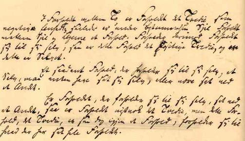 Søren Kierkegaard's manuscript of The Sickness Unto Death, 1849.