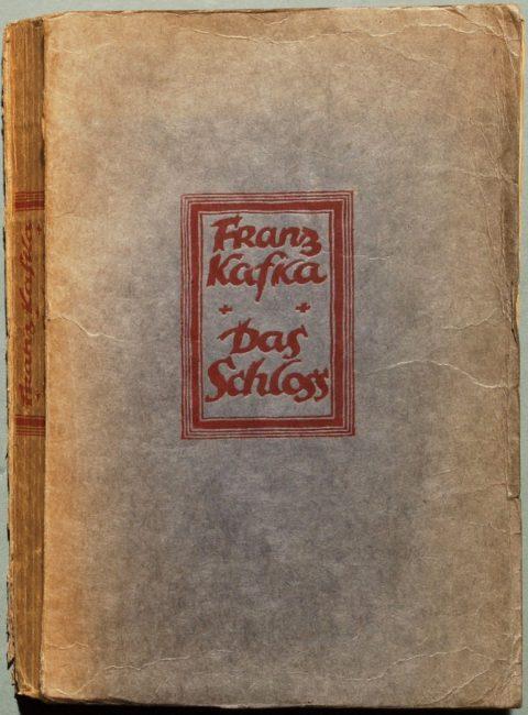 Franz Kafka, Das Schloss, first edition (1926)