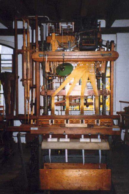 A programmable Jacquard Loom, Joseph Marie Jacquard