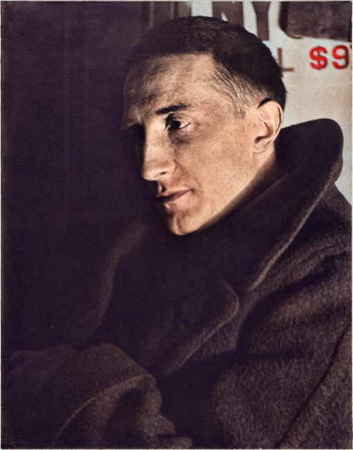Marcel Duchamp (1887-1968), Portrait of Marcel Duchamp, 1920–21 by Man Ray, Yale University Art Gallery)