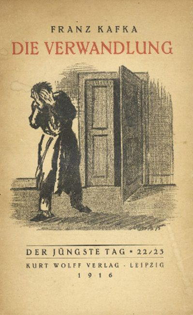 Franz Kafka, Metamorphosis, first edition (1915)
